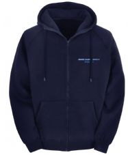 STROKE UNIT ZIPPED HOODY